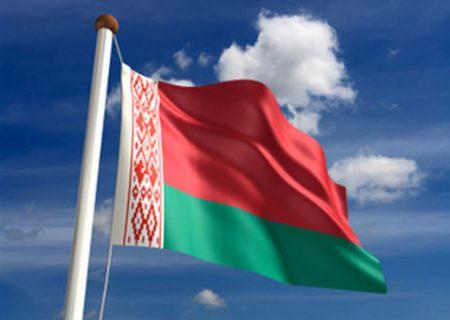 На фото: Флаг Беларуси